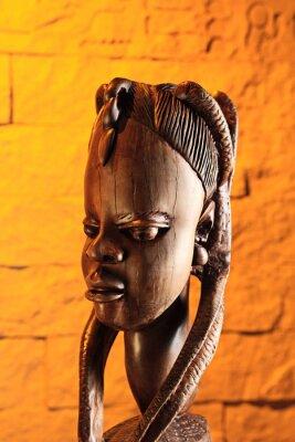 Obraz drewniana rzeźba