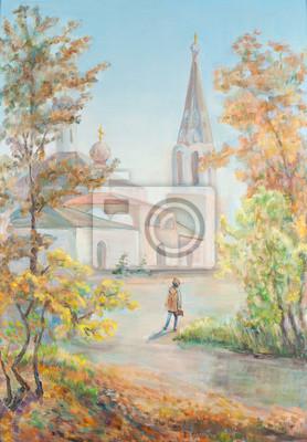 Obraz Droga do świątyni