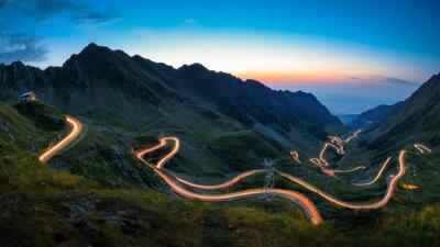 Obraz Droga transfagaraska, najbardziej spektakularna droga na świecie