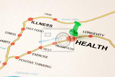 Obraz Droga zdrowia