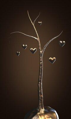 Obraz Drzewo miłości