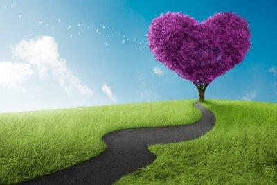 Obraz drzewo serce