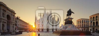 Obraz Duomo o wschodzie słońca