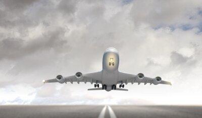 Obraz Duży samolot pasażerski
