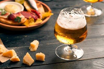 Obraz Dwie szklanki piwa
