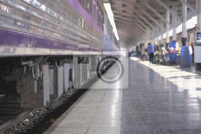 Dworzec / Dworzec kolejowy w Bangkoku w Tajlandii.