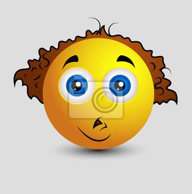 c5ae3fdcb9 Obraz Dyrektor muzyczny emotikonów Smiley emotikon na wymiar • w ...