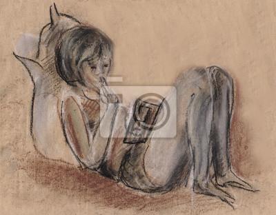 Obraz Dziewczyna