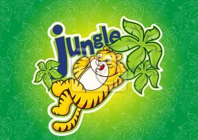 Obraz dżungla