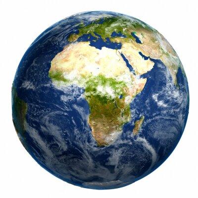 Obraz Earth globe map