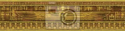 Obraz Egipt granicy (bez szwu deseń)