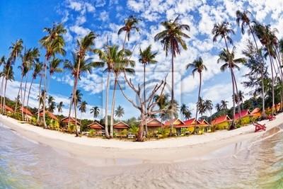 Egzotycznych plaży tropikalnych.
