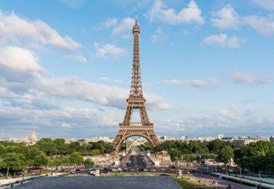 Obraz Eiffel tower, famous landmark and travel destination in France, Paris