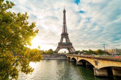 Obraz Eiffla w Paryżu