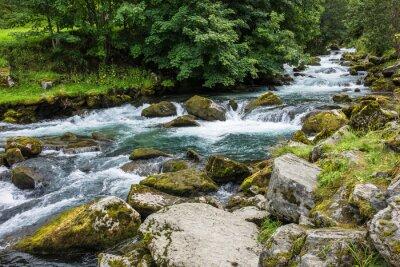 Obraz Ein Wodospad w Norwegen