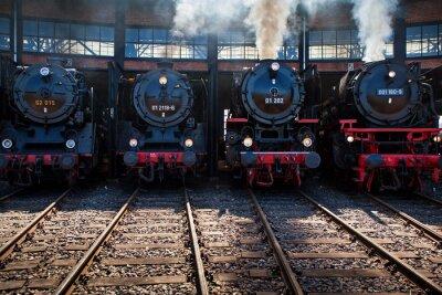 Obraz Eisenbahntreffen
