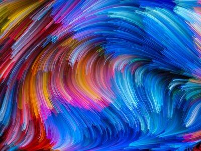 Obraz Eksplodujące Kolor