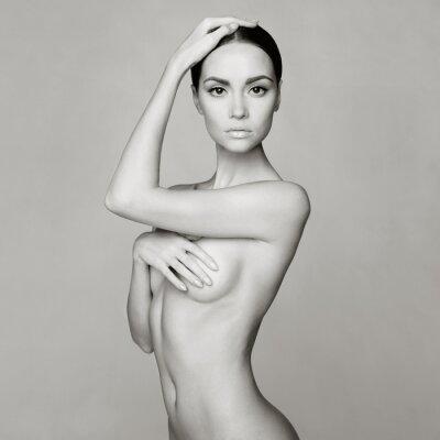Obraz Elegancka naga dama