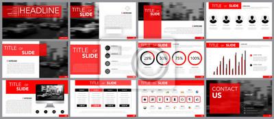 Obraz Element konstrukcyjny infografiki dla szablonów prezentacji.