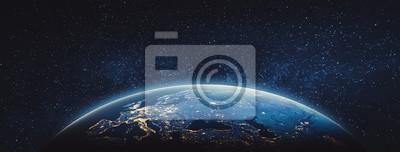 Obraz Elementy tego obrazu dostarczone przez NASA