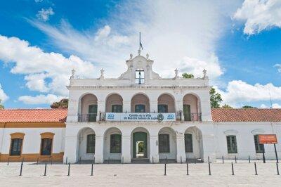 Enrique Udaondo Museum main entrance located at Lujan city near Buenos Aires, Argentina