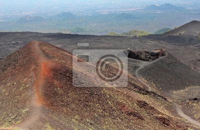 Obraz Etna wulkan