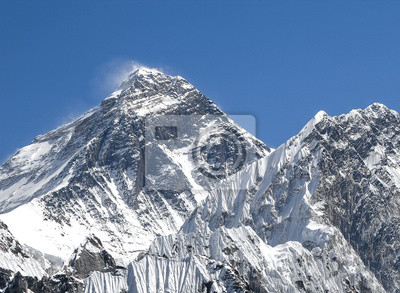 Everest Mountain Peak (Sagarmatha), najwyższa góra w Worl