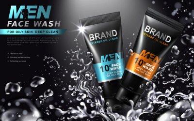 Obraz face wash for men ad