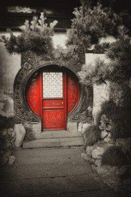 "Obraz Famous landmark ""Yu Yuan Gardens"" in Shanghai"