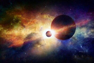 Obraz Fantastic space background