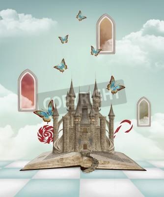 Obraz Fantasy book