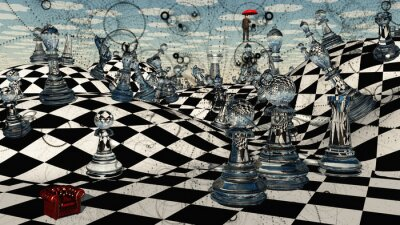 Obraz Fantasy Chess