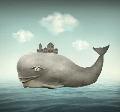 Obraz Fantasy Whale