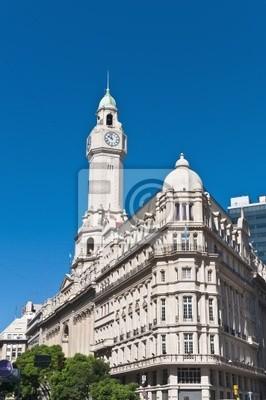 Fasada budynku Legislatura Julio Roca znajduje się na ulicy