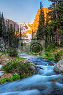 Fern Creek and Notchtop Mountain Sunrise