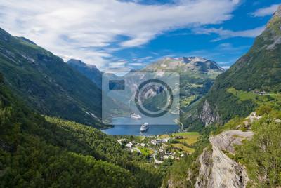 Fiordu Geiranger, Norwegia
