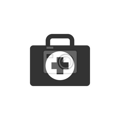 Obraz First aid icon design template vector isolated