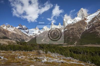 Obraz Fitz Roy Mountain Range, Argentyna