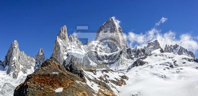 Fitz Roy w Patagonii Mountain Range, Argentyna