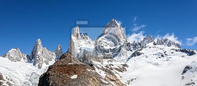 Fitz Roy w Patagonii Mountain Range w Argentynie.