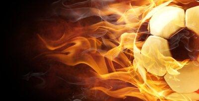 Obraz flamy symbol