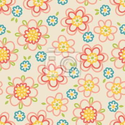 Floral bez szwu