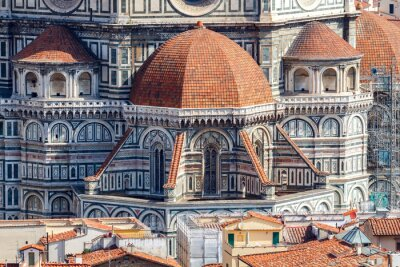 Obraz Florencja. Widok na miasto z góry.