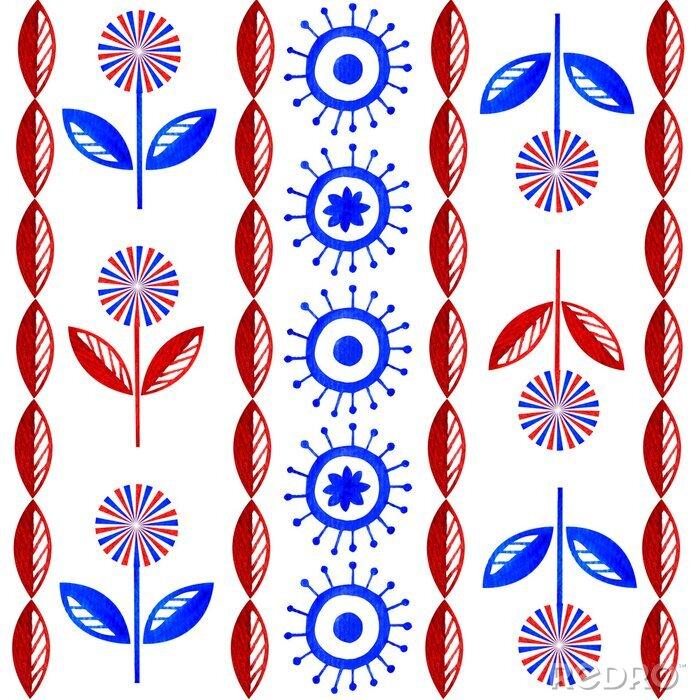 Obraz Folk Flowers
