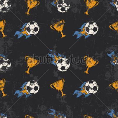Obraz Football pattern