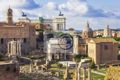 fora rzymskie - największe archeologiczne
