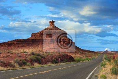Formacji w Valley of the Gods, Utah, USA