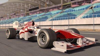 Obraz Formuła jeden samochód wyścigowy