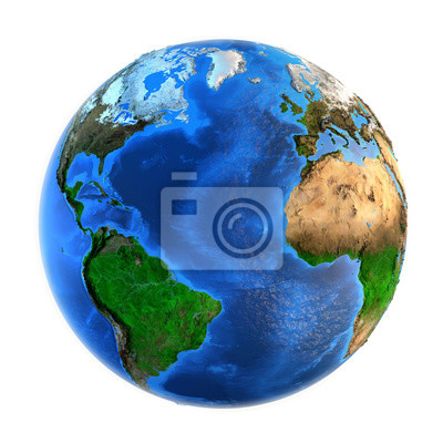 Formy rzeźby Planet Earth