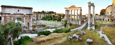 Obraz Forum Romanum, Rzym